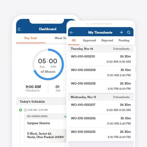Time-tracking & timesheets