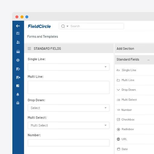 Forms/templates builder