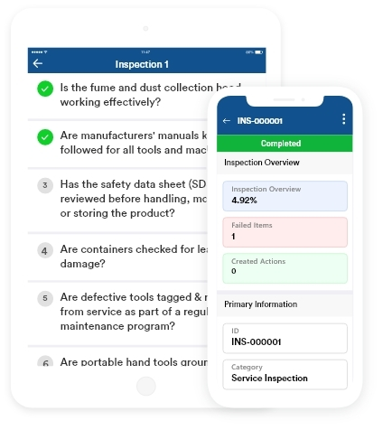 Inspection Mobile App Solution