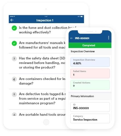Inspection Mobile App Solution