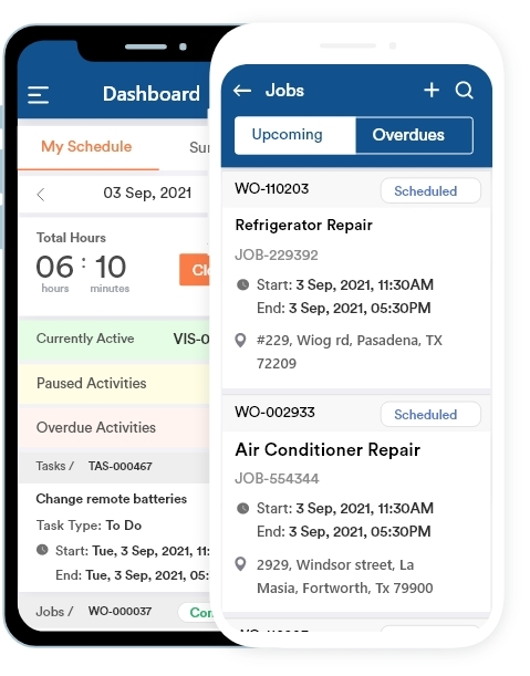 Field Sales Mobile App