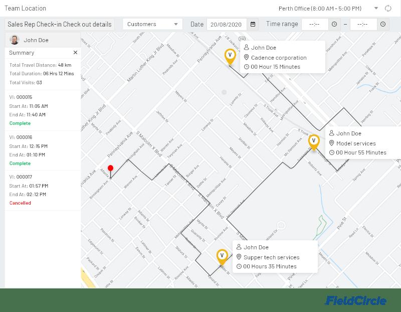 Team-location